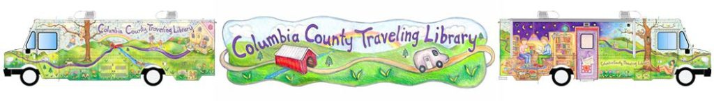 columbia county traveling library banner